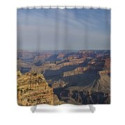 Daybreak At The Canyon Shower Curtain