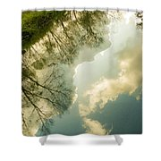 Daydreaming On The Canal Shower Curtain