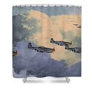 Daydreams Over Cambridgeshire Shower Curtain