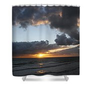 Day's End On Singer Island Shower Curtain