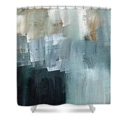 Days Like This - Abstract Painting Shower Curtain