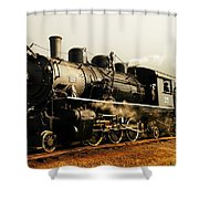 Days Of Steam And Steel Shower Curtain by Jeff Swan