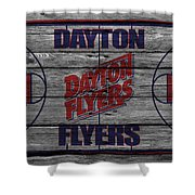 Dayton Flyers Shower Curtain
