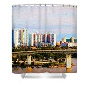 Daytona Bridge Shower Curtain