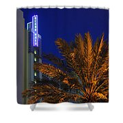 Daytona Rest Stop Shower Curtain