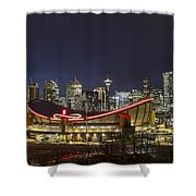Dazzled By The Light Shower Curtain