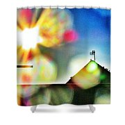Dazzled By The Sun Shower Curtain