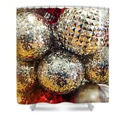 Dazzling Christmas Shower Curtain