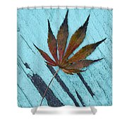 Dazzling Japanese Maple Leaf Shower Curtain