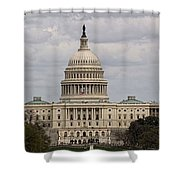 Dc Capitol Building Shower Curtain