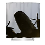 Dc Shadow  Shower Curtain