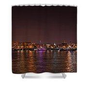Dc Waterfront Shower Curtain