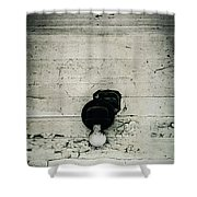 Light Of The Past Shower Curtain