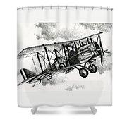 De Havilland Airco Dh.4 Shower Curtain
