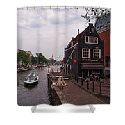 de Sluyswacht Amsterdam Shower Curtain