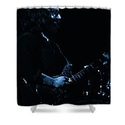 Dead #10 In Blue Shower Curtain