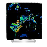 Dead #19 In Cosmic Colors Shower Curtain