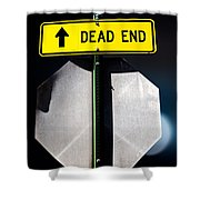 Dead End Shower Curtain