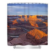 Dead Horse State Park Shower Curtain