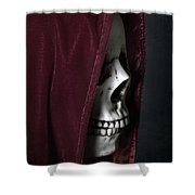 Dead Knight Shower Curtain