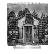 Dead Man's Castle Shower Curtain