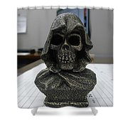 Dead On Time Shower Curtain