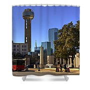 Dealey Plaza Shower Curtain
