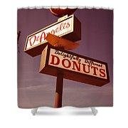 Deangelis Donuts Shower Curtain