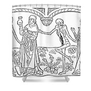 Death - Doctor And Lover Shower Curtain