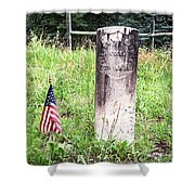 Death In Rico Colorado Shower Curtain