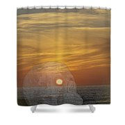 Death Of A Day Shower Curtain