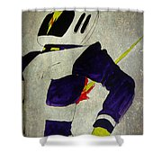Death Of An Astronaut  Shower Curtain