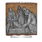 Death Of Christ Shower Curtain