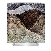 Death Valley Desert Rocks Shower Curtain