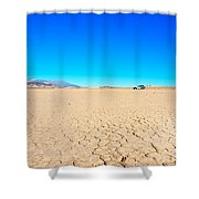 Death Valley Discovery Shower Curtain