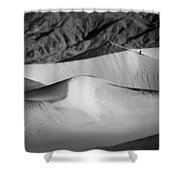 Death Valley National Park Stovepipe Wells Dunes 19 Shower Curtain