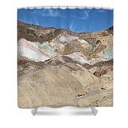 Death Valley Rock #2 Shower Curtain