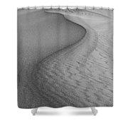 Death Valley Sand Dunes Shower Curtain