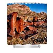 Death Valley Truck Shower Curtain