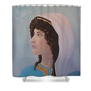 Deborah    Prophetess And Judge Shower Curtain