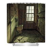 Decade Of Decay Shower Curtain