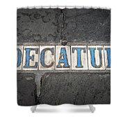 Decatur Shower Curtain
