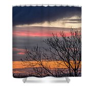 December County Clare Sunrise Shower Curtain