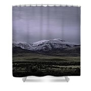 December In Orovada 1 Shower Curtain
