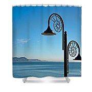 December Morning Shower Curtain