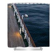 Deck Sea Shower Curtain
