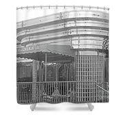 Deco Diner Shower Curtain