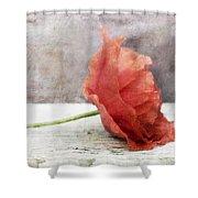 Decor Poppy Red Shower Curtain