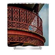 Decorative Balcony Shower Curtain