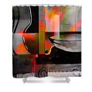 Decorative Design Shower Curtain